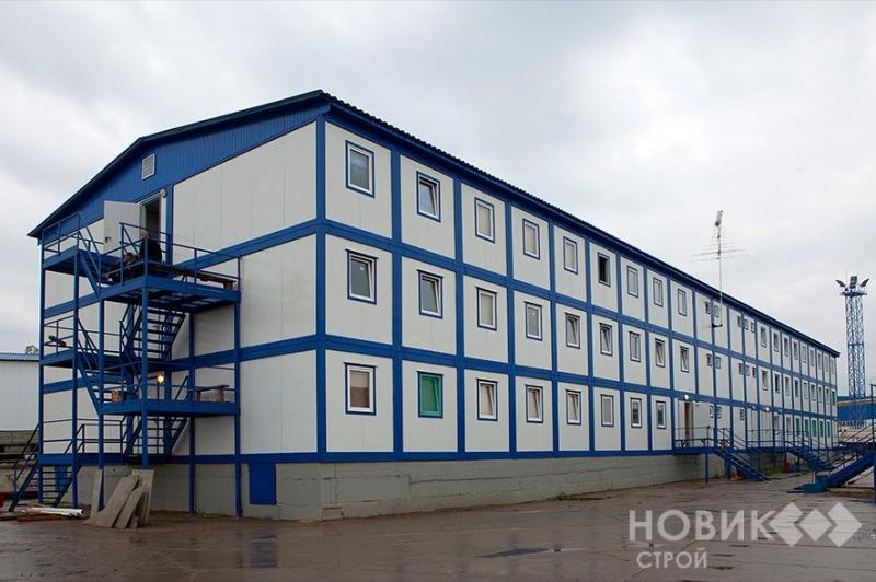Строительство модульных зданий